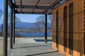 Poolhouse by Pool House Hudson River Estate U2014 Trimble Architecture