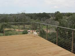 customer review stainless steel cable railing system with flat