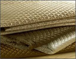 Queen Quilted Coverlet Ivory Charmeuse Queen Quilted Coverlet Ann Gish Luxe Home