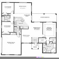 Four Bedroom House Floor Plans by 100 4 Bedroom Contemporary House Plans 2100 Square Feet 195