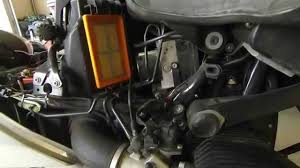 bmw r1200rt air filter change youtube