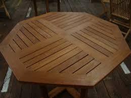 Hexagon Patio Table 40 Octagon Teak Table
