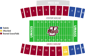 Ohio Stadium Map by Umass Mullins Center Online Ticket Office Parking Football