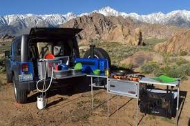 overland jeep kitchen jeep cing kitchen slide out kitchen for overlanding trail