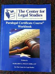 paralegal certificate course workbook acp margaret j peggy
