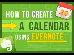 How To Make Your Own Desk Calendar Evernote Tips How To Create Your Own Calendar In Evernote 2 Ways