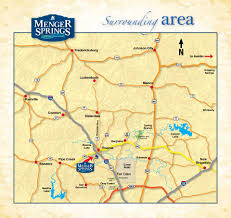 Texas Hill Country Map Maps Texas Hill Country Surrounding Area