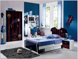 bedroom barcelona fc theme and white bedroom paint ideas