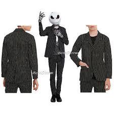 skellington costume rude nbc skellington costume pin striped suit blazer