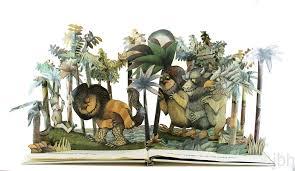 book sculpture wild