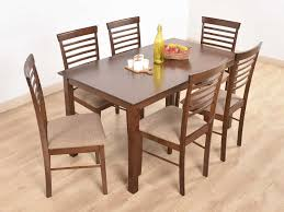 Buy Rubber Wood Furniture Bangalore Diyan Solid 6 Seater Dining Set Buy And Sell Used Furniture And