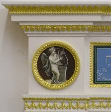 facsimile robert adam fireplace from home house thistle u0026 rose