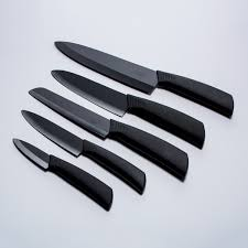 cape cod 5 piece ceramic knife set timberline touch of modern