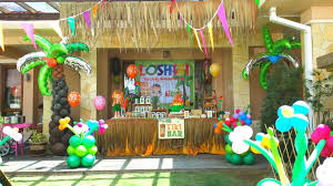 hawaiian party ideas theme u its more than just a partyrhabbycreativedesignscom ideas
