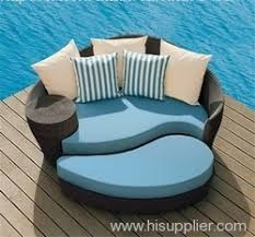 Wicker Outdoor Round Sofa From China Manufacturer Fenghua - Round outdoor sofa