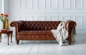 Leather Chesterfield Sofas Chesterfield Sofa Visualizeus