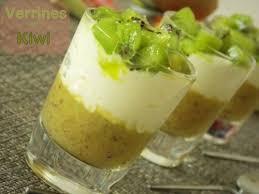 cuisine verrine verrines au kiwi facile dessert ramadhan 2013 le cuisine de