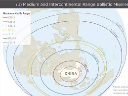 Chinese Map Of America by Chinese Missiles Can Hit Entirety Of Us Business Insider
