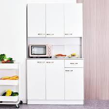 homcom kitchen pantry cupboard wooden storage cabinet organizer shelf white homcom free standing kitchen pantry 71 modern pantry