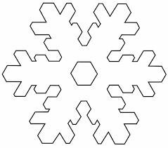 templates for snowflakes snowflake templates snowflake template 1 templates pinterest