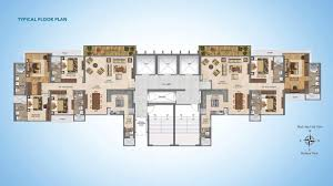 Lounge Floor Plan Wadhwa W54 Matunga W Mumbai Floor Plan Sky Lounge 5 Bhk