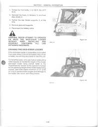 how do you lift cab on new holland skidsteer