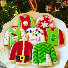 christmas sweater cookies crumbles by nicole ugly xmas sweater