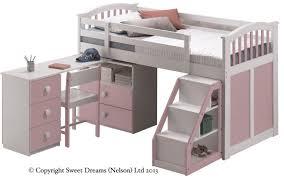Sweet Dreams Kipling Ruby Mid Sleeper - Mid sleeper bunk bed