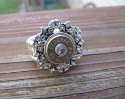 bullet wedding rings stretch bullet ring etsy
