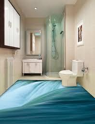 cuisine salle de bains 3d revêtement de sol trompe l œil 3d cuisine salle de bain la
