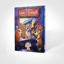 lady and the tramp ii scamp u0027s adventure disney dvd cartoon dvd
