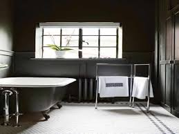 vintage black and white bathroom ideas brown laminated floating