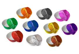 foil candy cups foil baking cups cupcake liners box and wrap