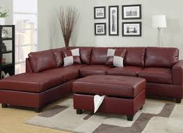 bonded leather sectional sofa with chaise sofas home alley cat