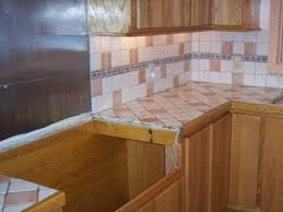 Kitchen With Ceramic Tile Backsplash Ideas My Home Design Journey - Ceramic backsplash