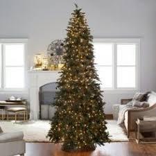 6 1 2 ft pre lit northern fir slim artificial christmas tree 300