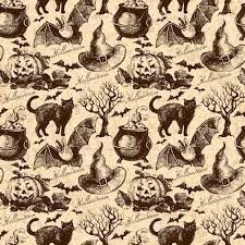 cute tile background halloween vintage halloween pattern background clipartsgram com