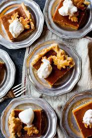 thanksgiving for a crowd pumpkin slab pie feeds a crowd sallys baking addiction