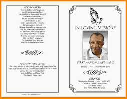 funeral programs templates free 9 funeral program template free authorization memorandum