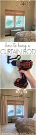 How To Hang Scarves On Curtain Rods by Best 25 How To Hang Curtains Ideas On Pinterest Hanging Curtain
