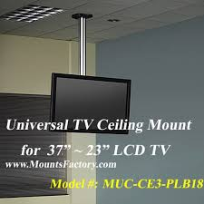 Ceiling Mounted Tv by Ceiling Mount For 37 23 Lcd Tv Muc Ce3 Plb18