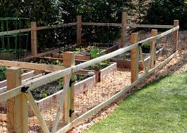 Ideas For Fencing In A Garden Wire Garden Fencing Ideas Lawsonreport 79b313584123