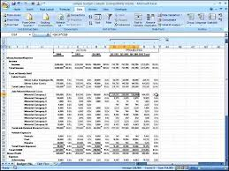 Income Projection Spreadsheet 6 Financial Projection Templates Template Update234 Com