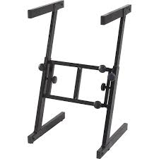 Keyboard Stand And Bench Proline Pl700z Folding Z Style Keyboard Stand Reverb