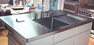 stainless steel countertop with sink stainless steel countertops cost original competent picture