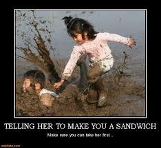 Make Me A Sandwich Meme - broken sandwich maker meme golf sandpoint elks