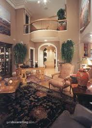 So You Can See The Events Of Downstairs From Above Love This - Get decorating living rooms