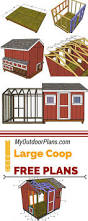 How To Build A Shed Summer House by Best 25 Chicken Coop Plans Ideas On Pinterest Diy Chicken Coop