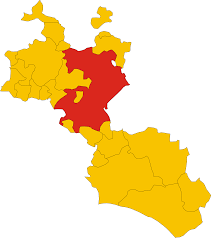 Map Of Sicily And Italy by File Map Of Comune Of Caltanissetta Province Of Caltanissetta