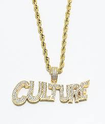 real gold chain necklace images Yrn x the gold gods culture gold chain necklace zumiez jpg